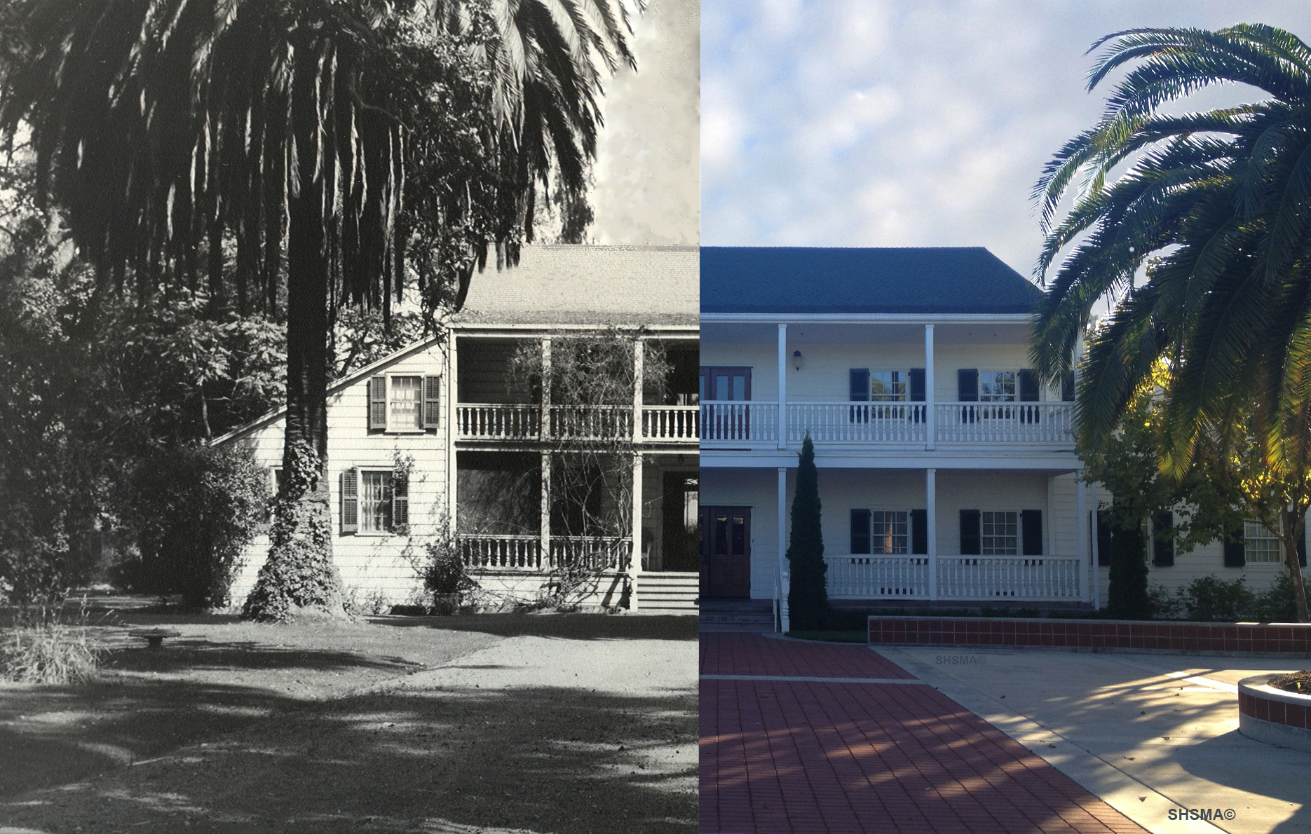 Murphy House Then and Now